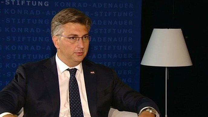 Plenković se obratio javnosti