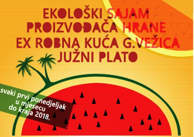 13. sajam ekološke hrane Eko Vežica – Rijeka