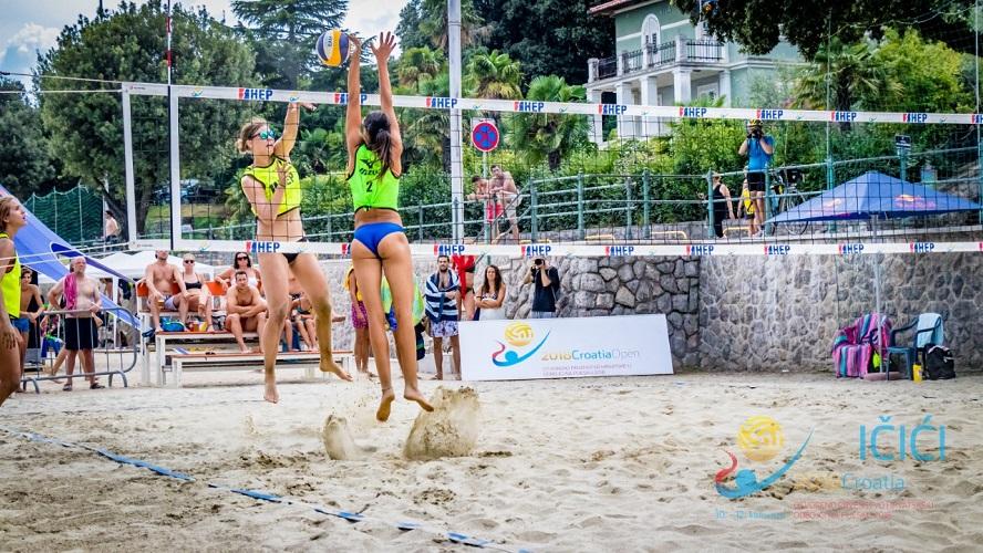 Najjači turnir prvenstva Hrvatske u odbojci na pijesku očekuje nas ovog vikenda u Ičićima.