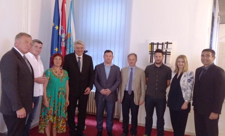 Župan Komadina primio predstavnike Talijanske unije