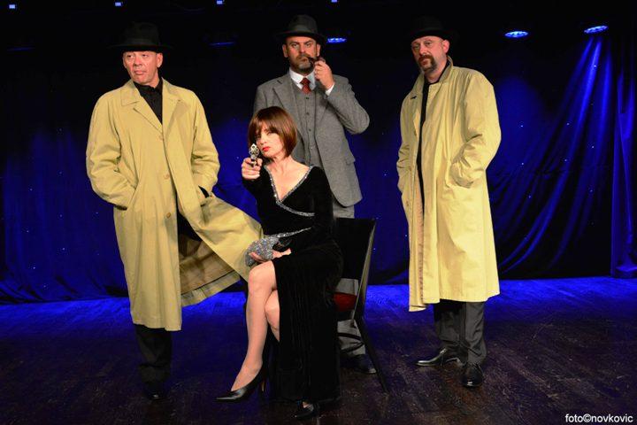 Ubojita komedija 39 stepenica na sceni Jazz&Cabaret kluba Kontesa