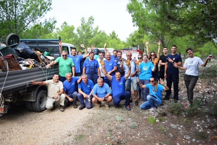 Održana akcija čišćenja NP Krka Zelena čistka