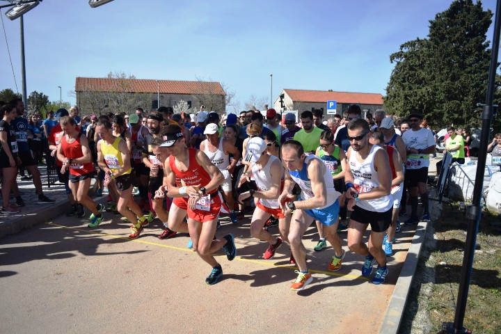 2. polumaraton u NP Krka