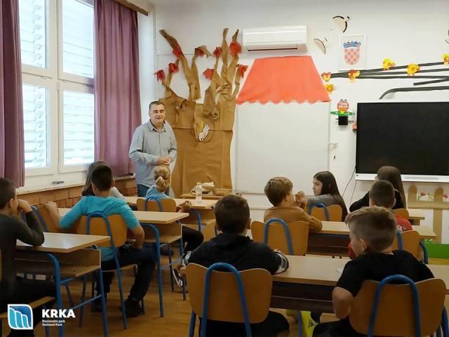 NP Krka predstavila novi školski kalendar