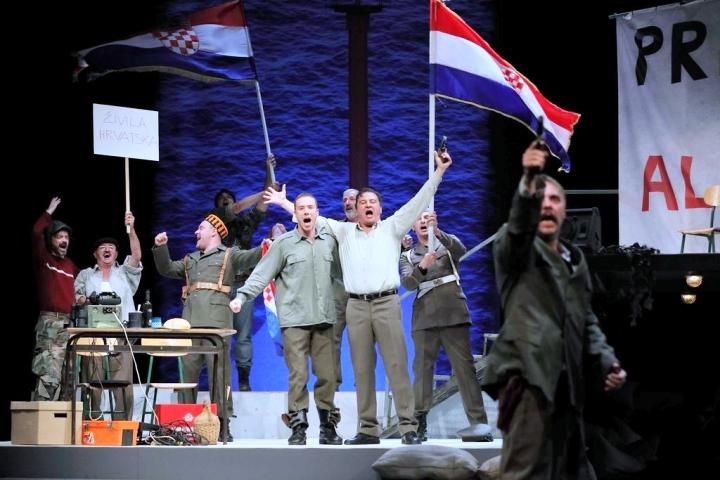Predstava 'Kako je počeo rat na mom otoku' u  Opatija