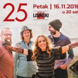 Do slavljeničkog koncerta grupe Nola u Lisinskom brojimo dane!
