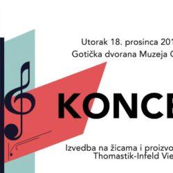 U Muzeju Grada Splita biti će održan koncert u suradnji s izvrsnim glazbenicima iz Beča