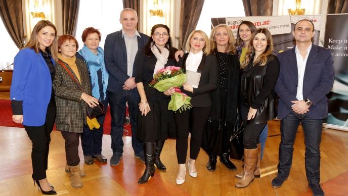 """Sanja Smiljanić dobitnica nagrade """"Hrvoje Mateljić"""""""