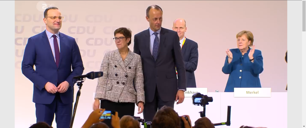 Njemačka: i poslije jake žena – ŽENA!