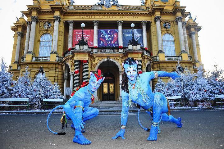 AVATARI posjetili zagrebacki Advent – Cirque du Soleil stigao u Zagreb