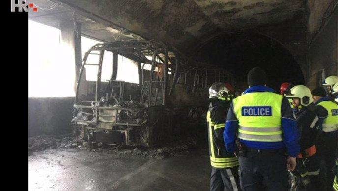 U Švicarskoj se zapalio splitski autobus koji je prevozio srednjoškolce