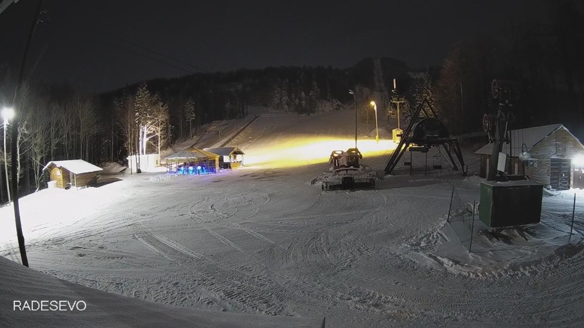 Na Platku konačno skijanje