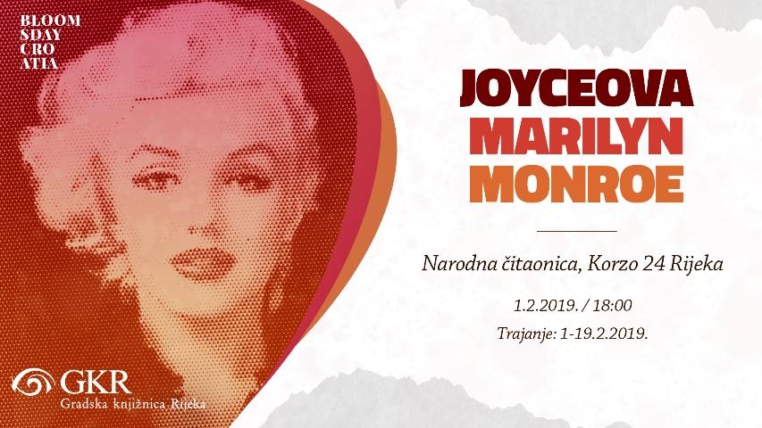 """Izložba """"Joyceova Marilyn Monroe"""" u Narodnoj čitaonici"""