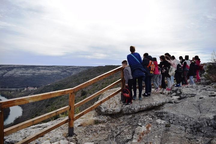 NP Krka, otvorena nova pješačka staza