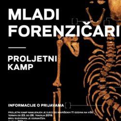 """Proljetni kamp """"Mladi forenzičari"""" u Arheološkom muzeju u Zagrebu"""