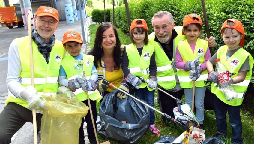 Beč: Građani čiste svoj grad