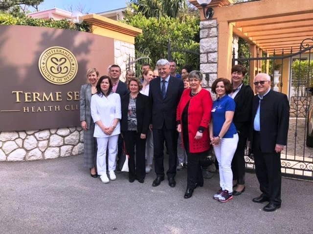 Župan Komadina posjetio Polikliniku Terme Selce