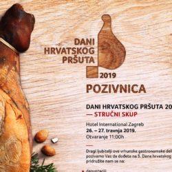 Svečano otvorenje petih Dana hrvatskog pršuta