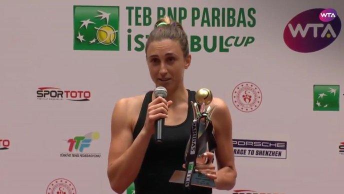 Martić od 662. tenisačice do TOP 40 igračica svijeta