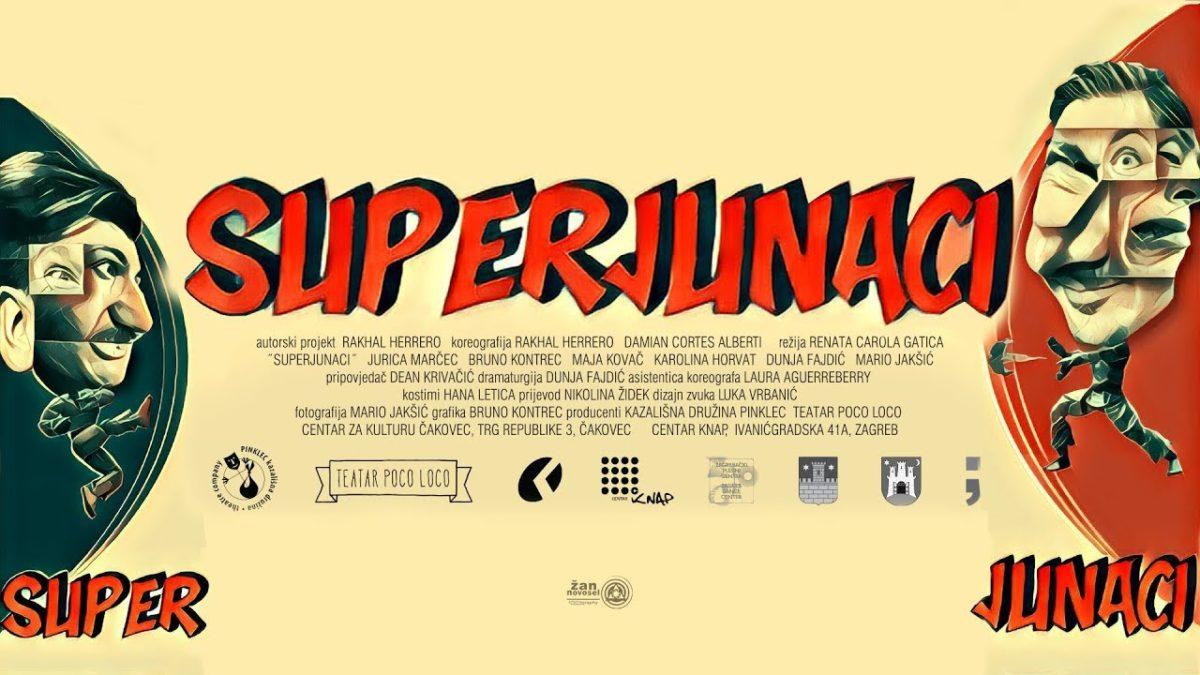 """Kazališna predstava za djecu i mlade """"Superjunaci"""", 14.travanj, Opatija"""