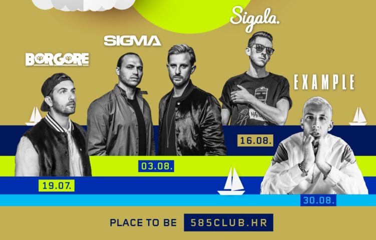 Sigma, Example, Sigala i Borgore stizu u Hrvatsku!