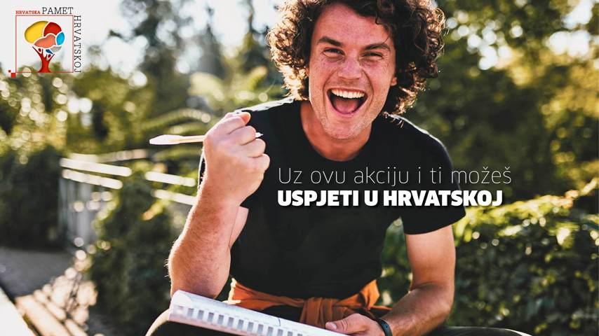 Nacionalna akcija zadržavanja mladih obrazovanih ljudi stiže i u Zagreb
