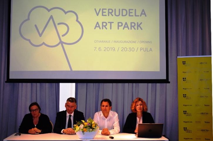 Najavljeno otvorenje Verudela Art Parka
