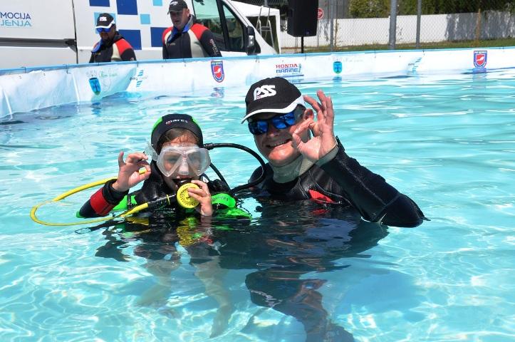 Besplatna probna ronjenja na sajmu Crofish