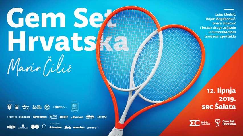 Poznati teniski parovi koji će zaigrati na turniru u organizaciji Zaklade Marin Čilić
