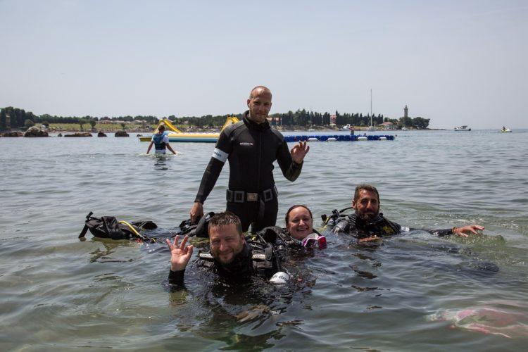 Hrvati i Slovenci zajedno čistili more