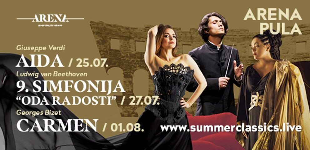 Ljetni operni spetakli u pulskoj Areni!