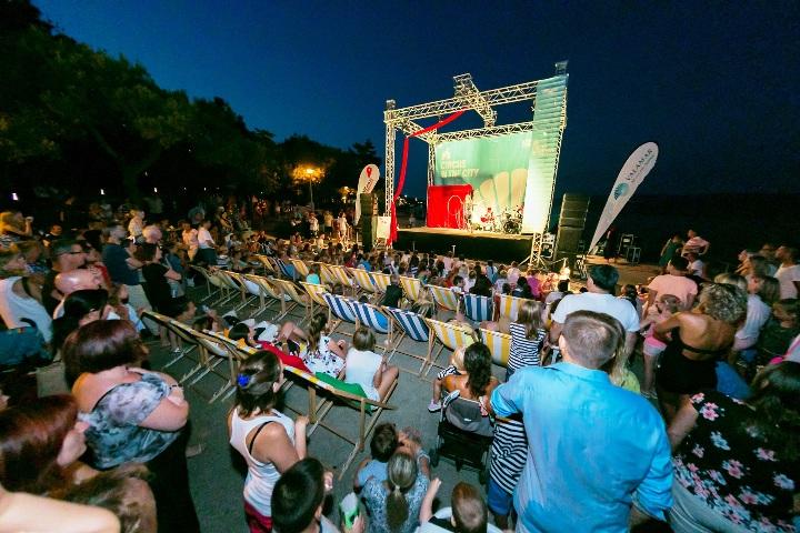 Prvi ovogodišnji Istra Inspirit i Circus in the City na  Rabac Open Air Festivalu