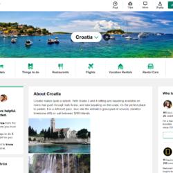 Hrvatska na vrhu popisa zemalja s najvećim rastom popularnosti na TripAdvisoru