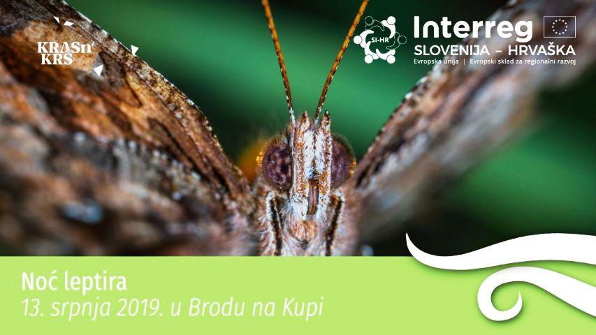 """""""Noć leptira"""", edukativni program u Brodu na Kupi"""