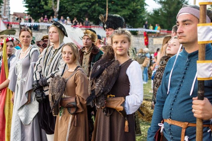 Čarobna atmosfera na 9. Srednjovjekovnom festivalu u Svetvinčenatu