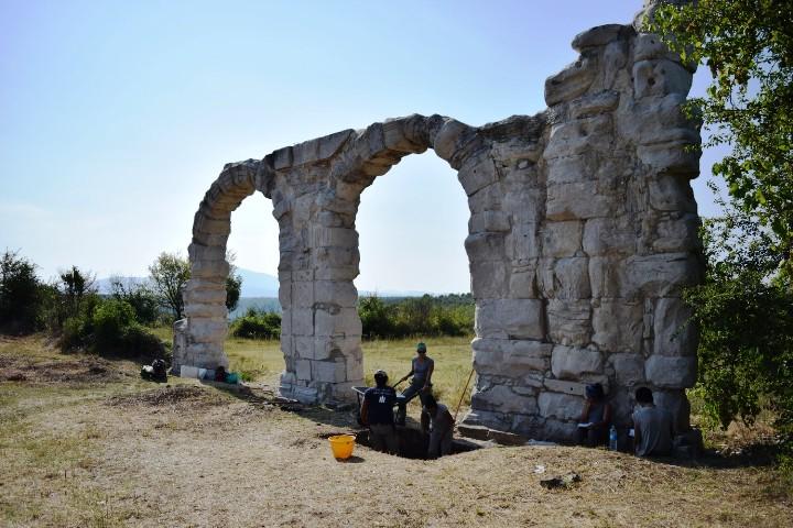 Ljetna arheološka škola u NP Krka