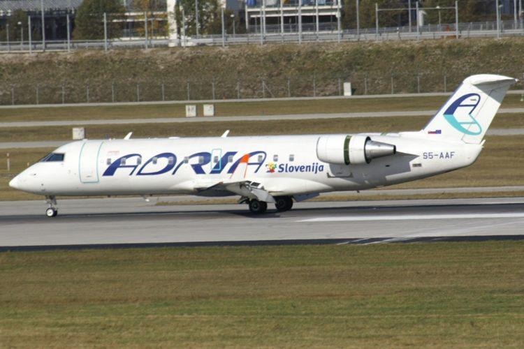 Adria Airways otkazao sve letove