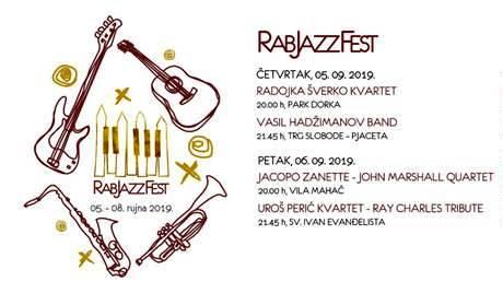 Ovaj tjedan počinje Rab Jazz Festival