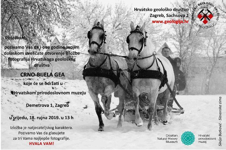 Otvorenje izložbe fotografija Crno-bijela GEA