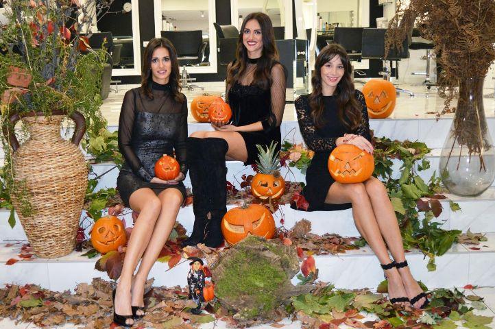 Halloween s našim ljepoticama; jedna ljepša od druge
