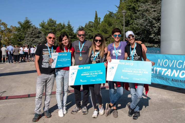 Novigrad u centru zbivanja – Novigrad-Cittanova RUN okupio više od 400 trkača