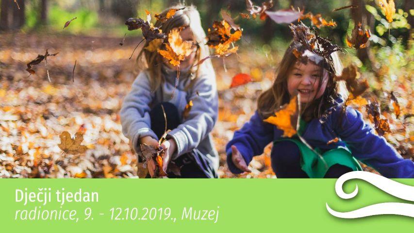 Dječji tjedan u Prirodoslovnom muzeju Rijeka