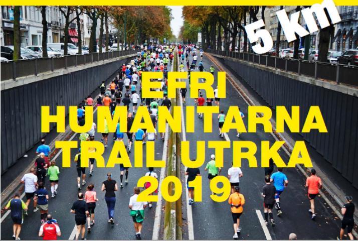 2. EFRI humanitarna trail utrka za Udrugu 21