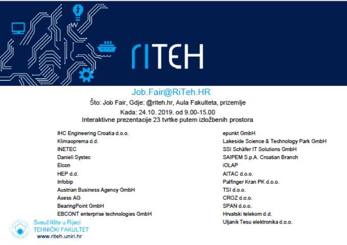 Job.Fair i Dan otvorenih laboratorija 2019 RITEH