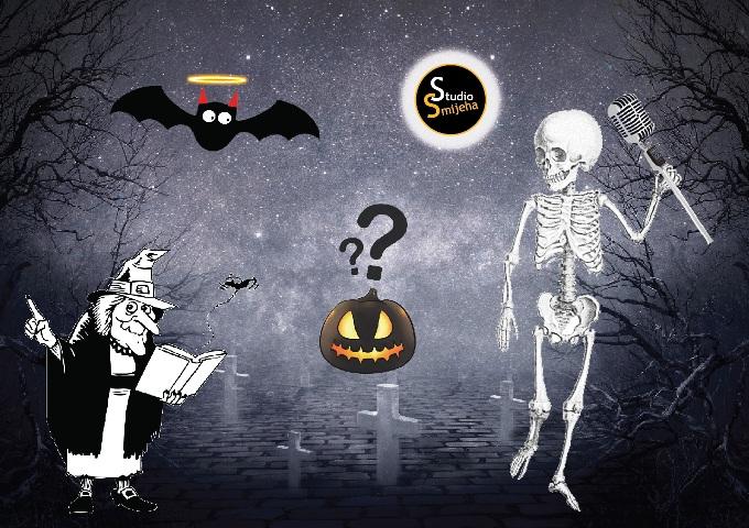 Halloween u Studiju Smijeha je uvijek drugačiji i zabavan!
