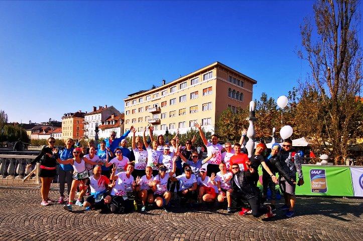 Torpedo Runnersi na 24. Volkswagen Ljubljana Marathonu