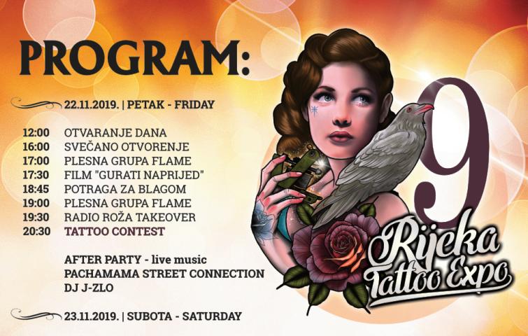Za 5 dana počinje 9. Rijeka Tattoo Expo