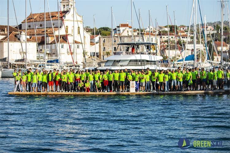 Green Sail: Timsko jedrenje s više od 150 sudionika s ciljem zaštite morskog okoliša