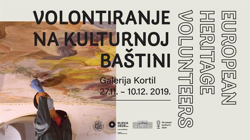U Galeriji Kortil se otvara izložba koja potiče volontiranje u kulturi