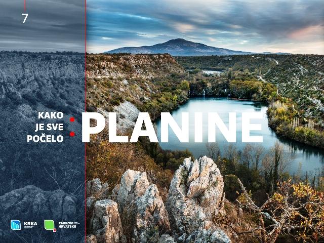 NP Krka, Kako je sve počelo: planine
